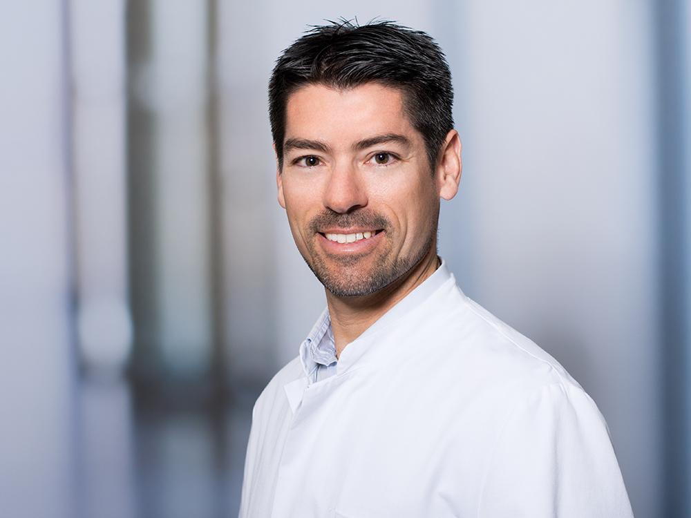 Dr. Jan-Eric Zinndorf, Oberarzt für Plastische- und Ästhetische Chirurgie im Klinikum Ingolstadt