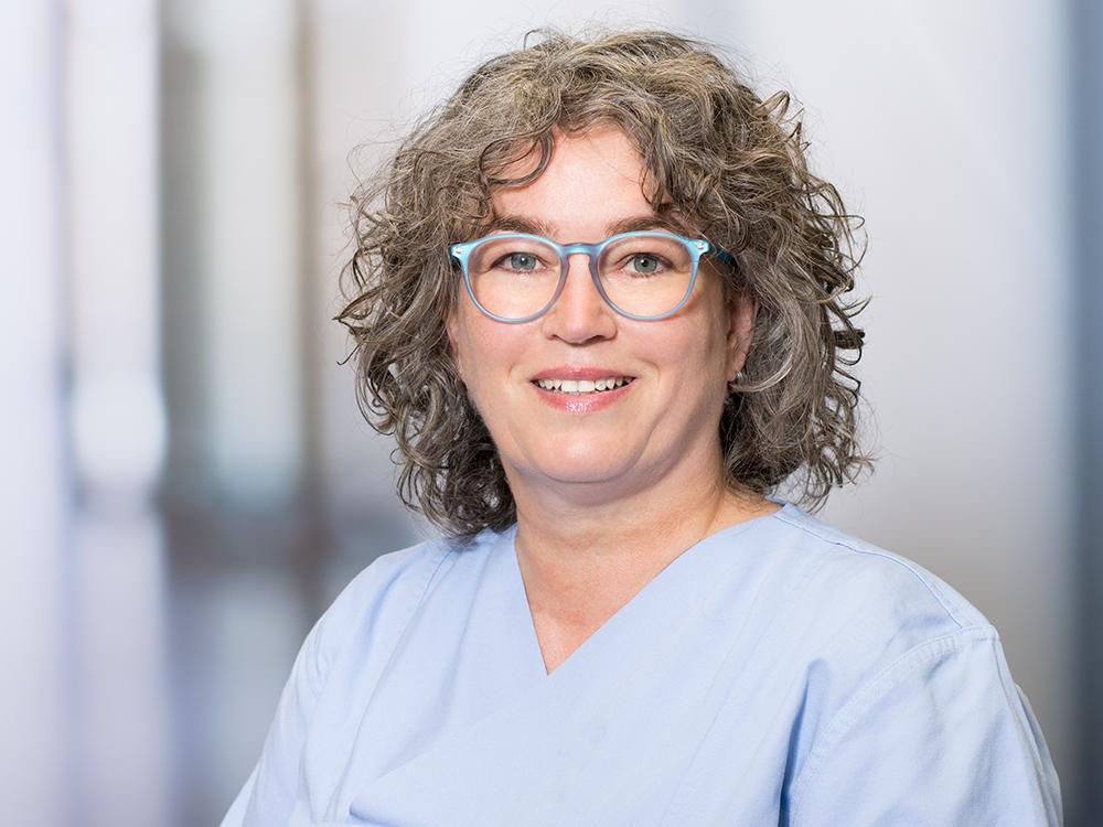Kerstin Kempel-Nutz, Pflegerische Leitung der OP-Abteilung im Klinikum Ingolstadt