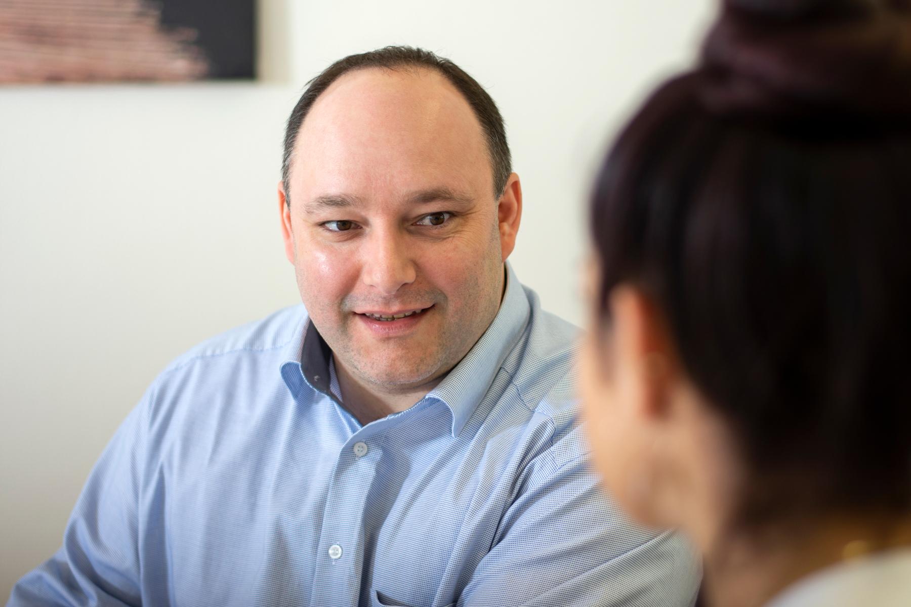 Markus Kugler ist seit seiner Ausbildung im Klinikum Ingolstadt beschäftigt.