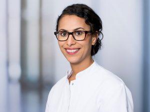 Dr. Iman Aglan, Oberärztin der Klinik für Allgemein-, Viszeral- und Thoraxchirurgie im Klinikum Ingolstadt