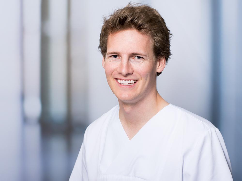 Klemens Freitag, Assistenzarzt der Medizinischen Klinik II im Klinikum Ingolstadt und PJ-Beauftragter