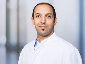 Dr. Ibrahim Rasched, Oberarzt der Klinik für Allgemein-, Viszeral- und Thoraxchirurgie im Klinikum Ingolstadt