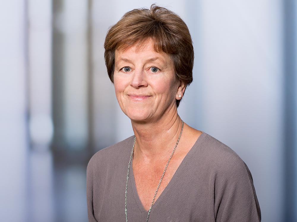 Petra Sagan, Chefarztsekretärin in der Klinik für Akutgeriatrie im Klinikum Ingolstadt