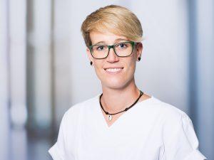 Stefanie Wein, Leitende Physiotherapeutin im Klinikum Ingolstadt
