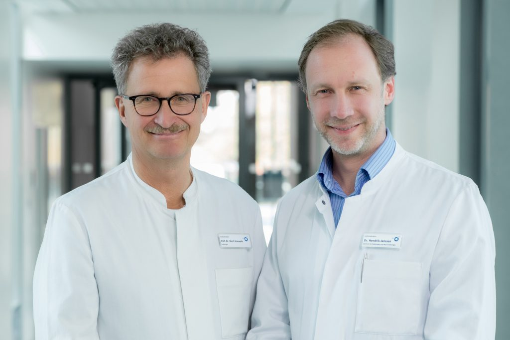 Ein Porträtbild von Prof. Dr. Dierk Vorwerk und Dr. Hendrik Janssen