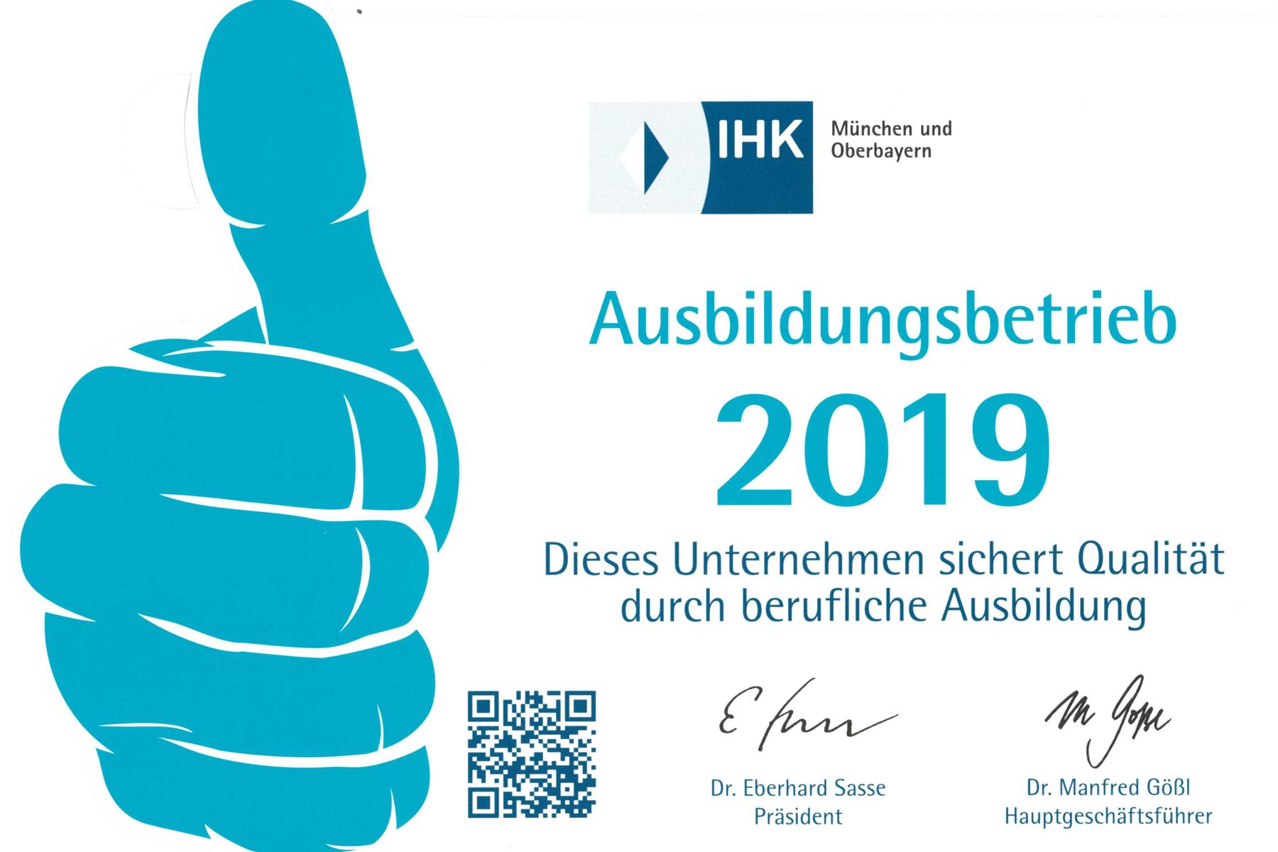 Klinikum Ingolstadt ist Ausbildungsbetrieb 2019