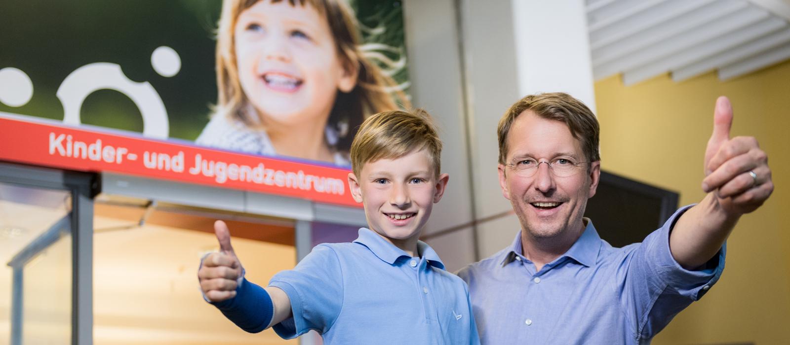 Ein Bild vom Kinder- und Jugendzentrum im Klinikum Ingolstadt