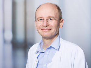 Gero Bühler, Bereichsleitender Oberarzt im Zentrum für psychische Gesundheit im Klinikum Ingolstadt