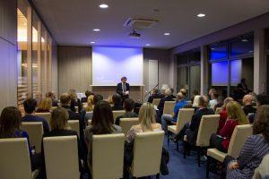 Gastgeber, Prof. Dr. Karlheinz Seidl, durfte sich über 70 Teilnehmer am 1. Ingolstädter Kardiologieforum freuen.