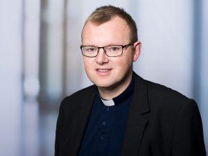 Hubert Gerauer, Pater im Klinikum Ingolstadt