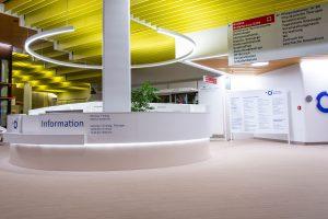 Die Information im Klinikum Ingolstadt