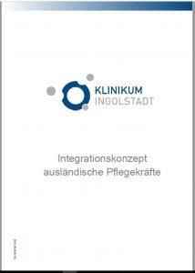 Titelblatt des Integrationskonzepts für ausländische Pflegekräfte des Klinikums Ingolstadt