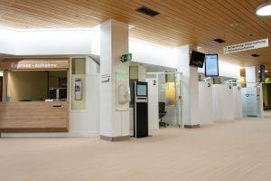 Die Patientenaufnahme mit Expressschalter im Klinikum Ingolstadt