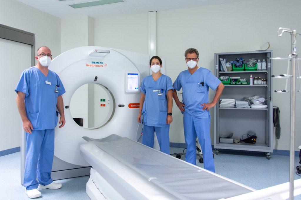 Das Klinikum Ingolstadt hat ein neues CT-Gerät zur Untersuchung von Patienten mit Verdacht auf Covid-19 installiert.