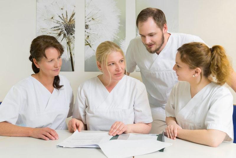 Teambesprechung Pflege Klinikum Ingolstadt