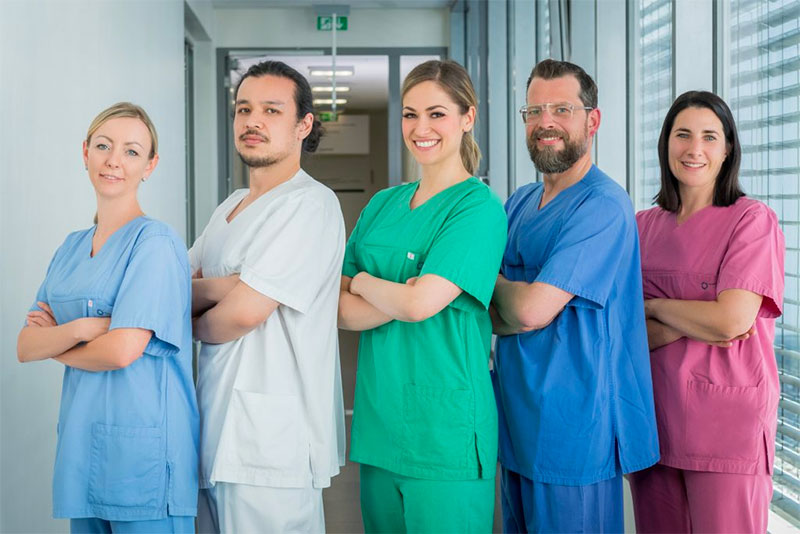 Pflegekräfte am Klinikum Ingolstadt